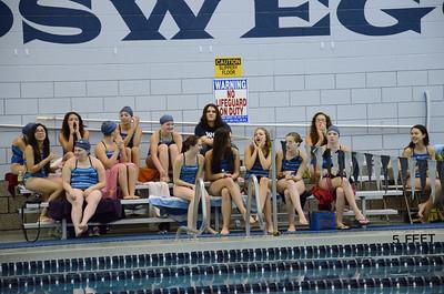 Oswego girls swim team Vs Rosary 2013 011