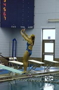 Oswego girls swim team Vs Rosary 2013 012