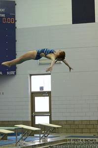 Oswego girls swim team Vs Rosary 2013 020