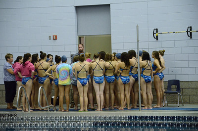 Oswego girls swim team Vs Rosary 2013 005