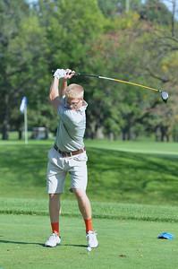 Oswego East Golf Team Vs Plainfield No  2013 049