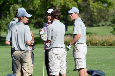 Oswego East Golf Team Vs Plainfield No  2013 057