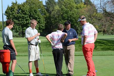 Oswego East Golf Team Vs Plainfield No  2013 031