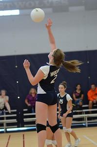 Oswego East Girls Volleyball Vs Waubonsie Valley 2013 070