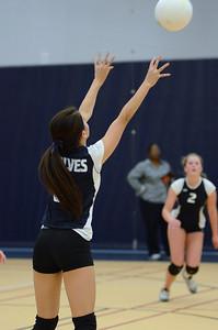 Oswego East Girls Volleyball Vs Bolingbrook 2013 259