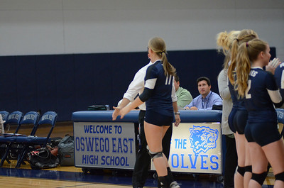 Oswego East Girls Volleyball Vs Bolingbrook 2013 381