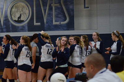 Oswego East Volleyball Vs Oswego 2013 001