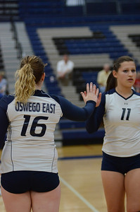 Oswego East Volleyball Vs Oswego 2013 075