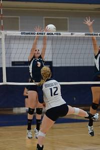 Oswego East Volleyball Vs Oswego 2013 035