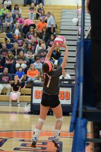 Girls Volleyball Vs Oswego 2013 454