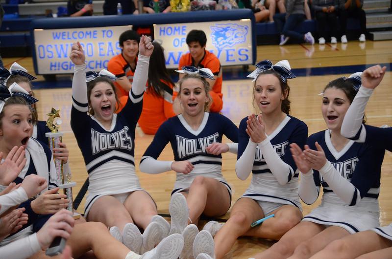 Oswego East Host Cheerleading ICCA Event 2013 1438
