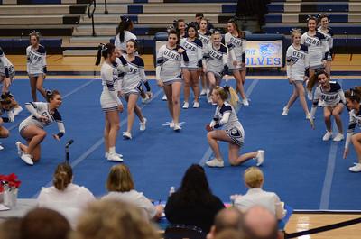 Oswego East Host Cheerleading ICCA Event 2013 012