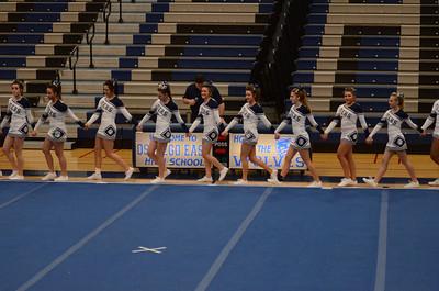Oswego East Host Cheerleading ICCA Event 2013 001