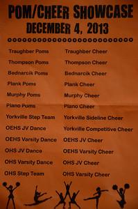 Pom-cheer showcase
