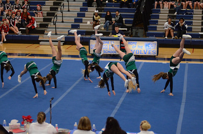 Oswego East Host Cheerleading ICCA Event 2013 687