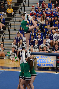 Oswego East Host Cheerleading ICCA Event 2013 1313