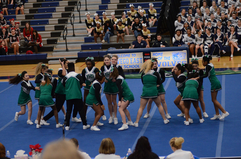 Oswego East Host Cheerleading ICCA Event 2013 459