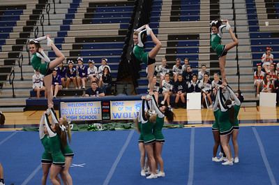 Oswego East Host Cheerleading ICCA Event 2013 1085