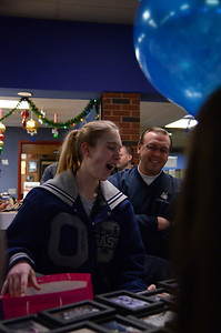 OE Girls Bowling Vs Oswego Senior Night 2013 024