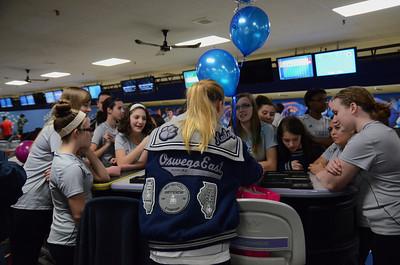 OE Girls Bowling Vs Oswego Senior Night 2013 021