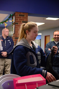 OE Girls Bowling Vs Oswego Senior Night 2013 014
