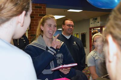 OE Girls Bowling Vs Oswego Senior Night 2013 013