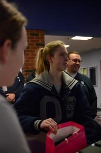 OE Girls Bowling Vs Oswego Senior Night 2013 012