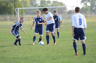 Oswego East Freshmen Soccer 2013 025