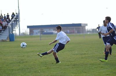 Oswego East Freshmen Soccer 2013 019