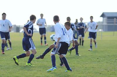 Oswego East Freshmen Soccer 2013 008