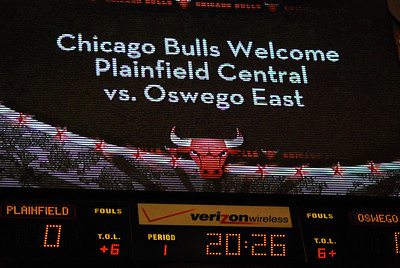 Oswego East Vs Plainfield Central at the United Center 001