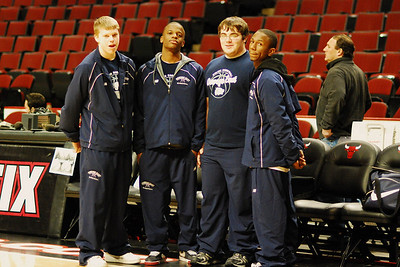 Oswego East Vs Plainfield Central at the United Center 032