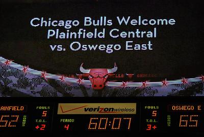 Oswego East Vs Plainfield Central at the United Center 437