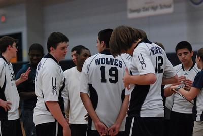 O E  Volleyball VS  Romeoville 013