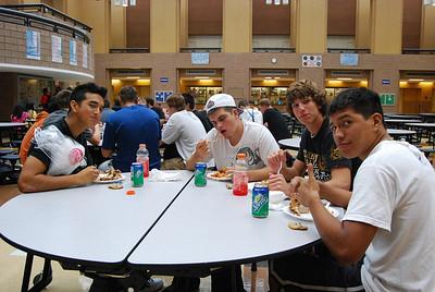 thursday night dinner with our boys 036
