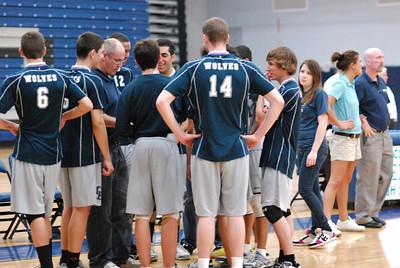 O E  Volleyball VS  Romeoville 158
