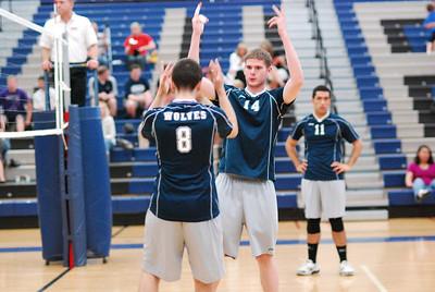 O E  Volleyball VS  Romeoville 174