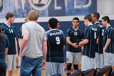 O E  Volleyball VS  Romeoville 160