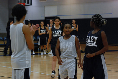 Girls Basketball Blue Silver Scrimmage 007