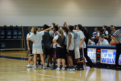 Girls Basketball Blue Silver Scrimmage 356