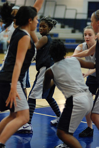 Girls Basketball Blue Silver Scrimmage 086