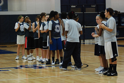 Girls Basketball Blue Silver Scrimmage 214