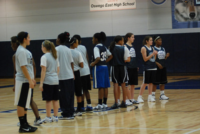 Girls Basketball Blue Silver Scrimmage 213