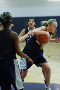 Girls Basketball Blue Silver Scrimmage 072