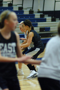Girls Basketball Blue Silver Scrimmage 065