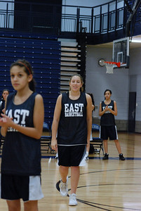 Girls Basketball Blue Silver Scrimmage 011