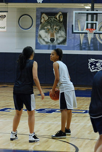 Girls Basketball Blue Silver Scrimmage 046
