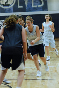 Girls Basketball Blue Silver Scrimmage 042