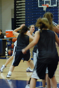 Girls Basketball Blue Silver Scrimmage 024