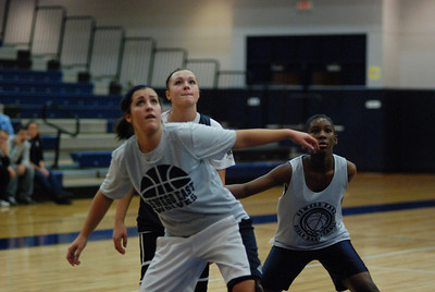 Girls Basketball Blue Silver Scrimmage 271
